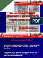Determinantes de Salud - Riesgo (Sci 2009)
