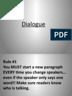 Dialogue Class