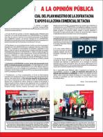 A La Opiniion Publica Zofratacna 11-11-2016