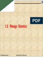1.5 Riesgo Sismico