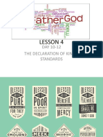 Gospel of Matthew (Lesson 4)
