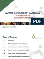 Manual Handling 2015June