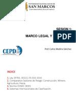 1.- Marco Legal y Formativo.