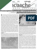 2014 Arte Rupestre y Patrimonio. Los Petrograbados Del Pnal Del Zamorano