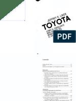 Toyota como el fabricante mas grande del mundo alcanzo el éxito