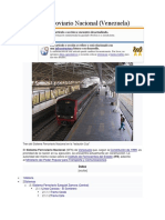 Sistema Ferroviario Nacional