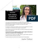 Bilan Sophie Thiébaut