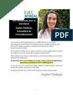 Le bilan de Sophie Thiébaut