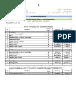 Work Schedule 18.2.17