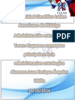 Administracion Estrategica Tarea 1 Esquema