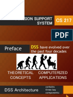 Decision Support System - Chapter 1