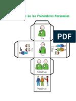 Cubo de Los Pronombres Personales