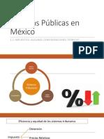 Finanzas Públicas en México Final