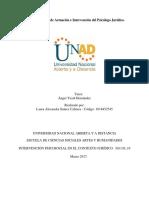 Paso 2_Ámbitos de Actuación e Intervención del Psicólogo Jurídico_INDIVIDUAL_Laura Suárez Cabrera -  1018452545.pdf