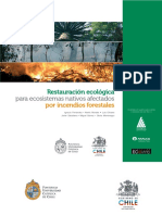 Restauración Ecosistemas Post Incendios Forestales