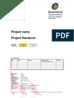 Project Handover Document