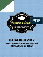 CATÁLOGO 2017 ELECTRODOMÉTICOS, ARTEFACTOS Y HOME.pdf
