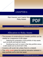 Chap 06 Risk Aversion and Capital Allocation