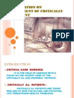 Critical Care Management