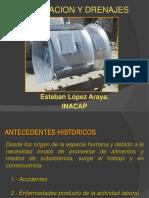 2º Clase de Ventilación y Drenajes.
