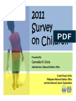 2011 Survey on Child Labor in the Philippines