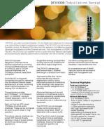 DFX1000 PDH-System En