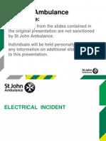 Electric Shock Presentation Resource 2016