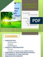 Keratinization - Dr. Priya
