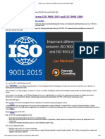 Differences Between ISO 9001_2015 and ISO 9001_2008