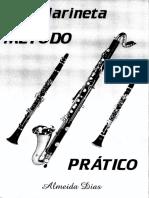 Método Para Clarinete e Clarone Almeida Dias