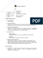 Modelo PLAN de CLASE2016 Penal