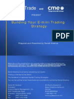 Daniel Gramza - Building Your E-mini Trading Strategy