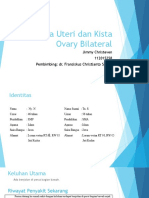 Mioma Uteri Dan Kista Ovary Bilateral