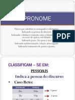 Pronome PORTUGUES