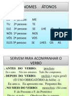 PRONOMES  ÁTONOS 5 PORTUGUES