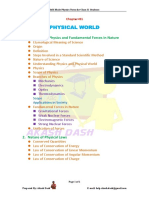 Chapter 1-Physical World
