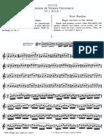 Sevcik  1 - Violino