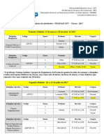 Calendário Profiap Ufv 2017 1