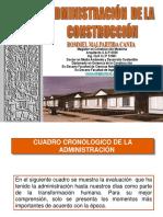 Administración de La Construcción 2015 13 Mayo