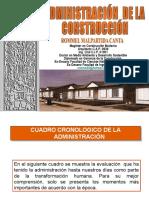 Administración de La Construcción 2015 Completo Eupg