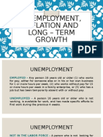 Unemployment, Inflation and Long _ Term Growth