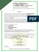 Certificacion de Ocupacion de Tierra