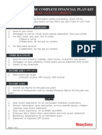 Worksheet 2 Gather Your Documents