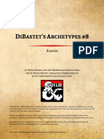D&D5e - 3 for 1 DiBastets Archetypes 8 - Ranger