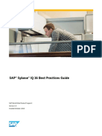 SAP Sybase IQ 16 Best Practices Guide