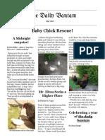 The Daily Bantam May 2017