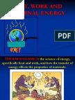 Heat Work and Internal Energy