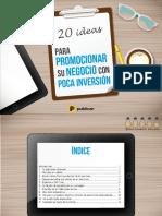 20 Ideas Para Promocionar Su Negocio