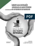 Diretrizes Educacao Tempo Integral