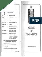 Genesis of Vedic Sciences,Prattipati Ramaiah,2001